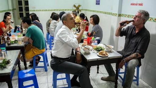 Món phở và bún chả Việt Nam