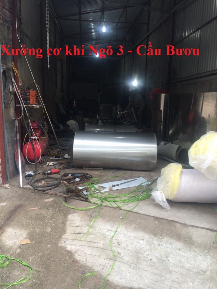 Tuyển thợ inox làm việc tại Hà Nội