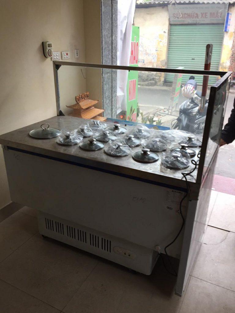 Tủ quầy cháo dinh dưỡng